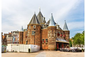 The Waag or Weigh House in Amsterdam