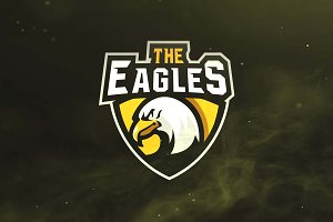 The Eagle Sport and Esports Logo