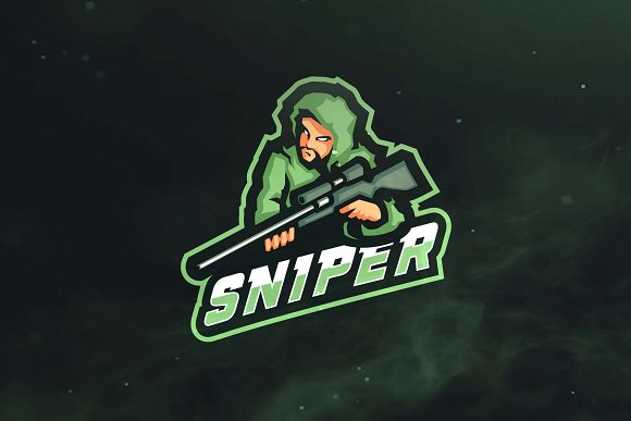 Sniper Sport And Esports Logo