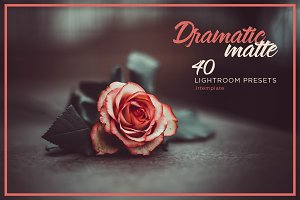 Dramatic & matte lightroom presets