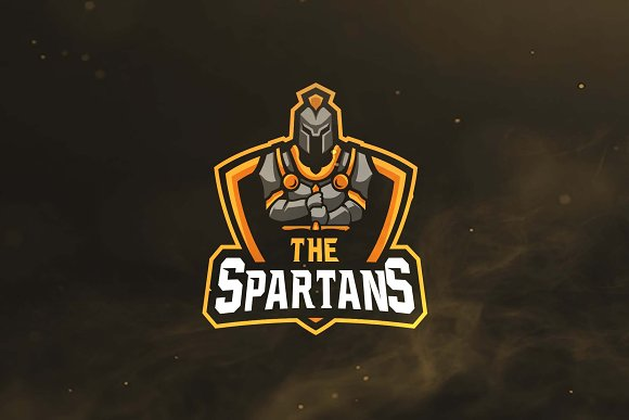 The Spartans Sport and Esports Logo