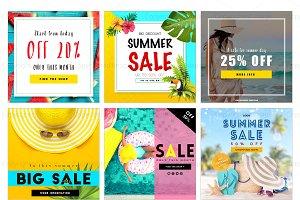 Summer Sale Social Medial Pack