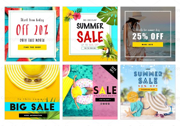 Summer Sale Social Medial Pack