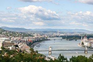 Panoramic view, Budapest, Hungury