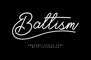 Baltism Typeface