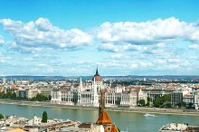 Parliament Buildings view, Budapest