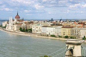 View on Budapest, Hungury