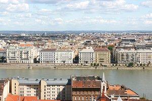 Budapest skyline, Hungury