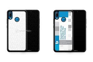 Huawei P20 Lite 2d RubberFlex Case