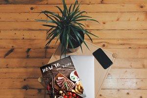 Book's cover Mockup