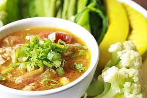 Thai  spicy dip food