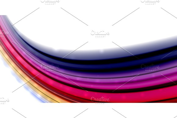 Abstract Flowing Motion Wave Liquid Colors Mixing Vector Abstract Background