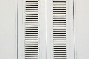 Vintage white window