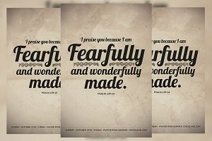 Fearfully and Wonderfully Made Flyer