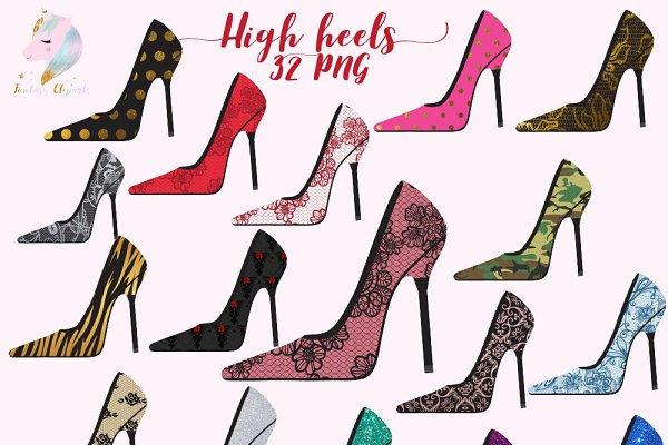 High Heels Clipart