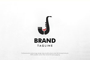 wine and jazz logo template