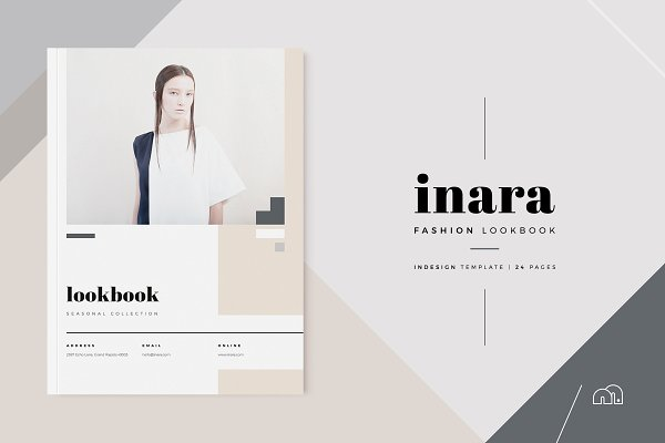 Brochure Templates: bilmaw creative - Lookbook - Inara