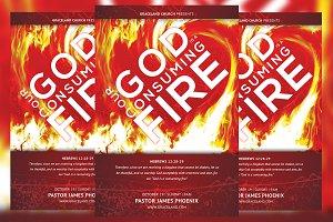 Consuming Fire Church Flyer