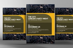 City Life Party Flyer