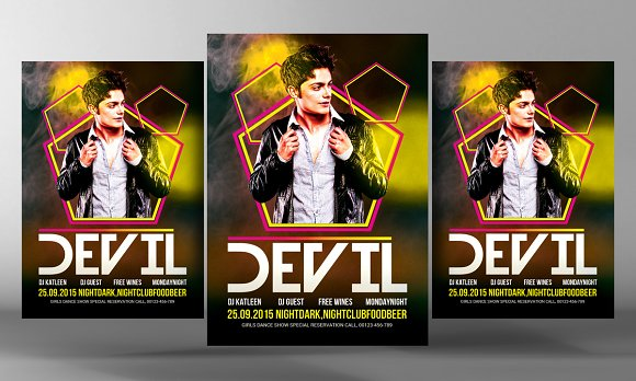 Dj Guest Party Flyer Template