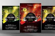 Electro Colors Flyer