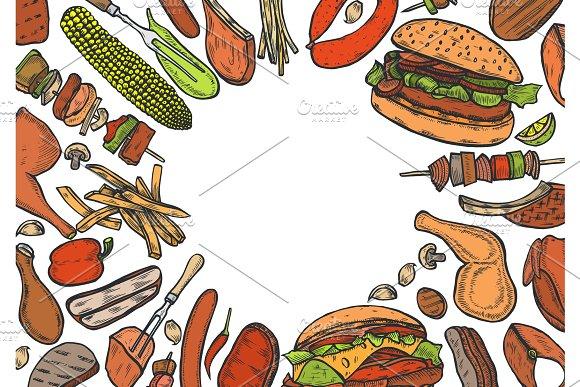 Grill Menu Design Template
