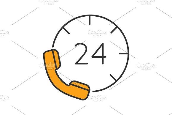 Hotline Color Icon