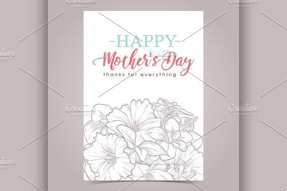 Vector Greeting Card Designe