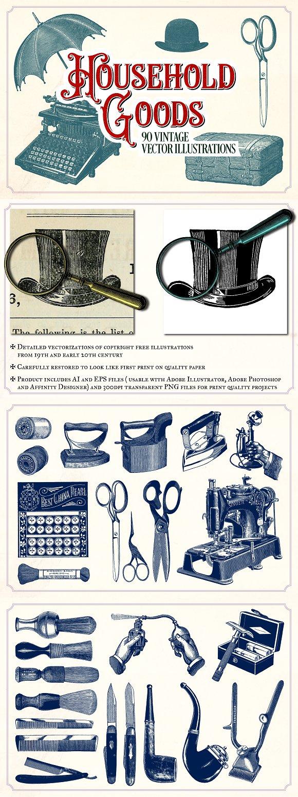 Vintage Household Goods