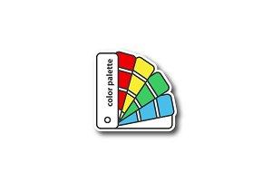 Color palette guide patch