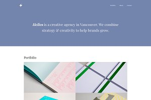 Helios - One Page Template