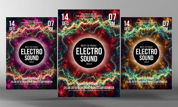Electro Sound Flyer