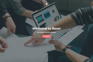Razor - One Page Template