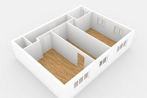floorplan - 3 room flat