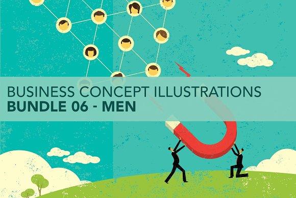 Business Concepts Bundle 06 Men