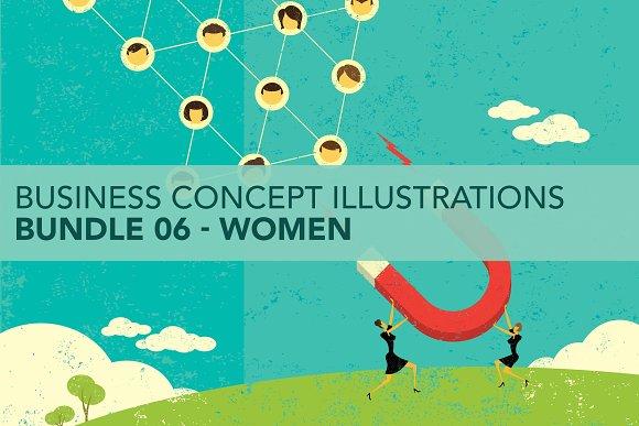 Business Concepts Bundle 06 Women