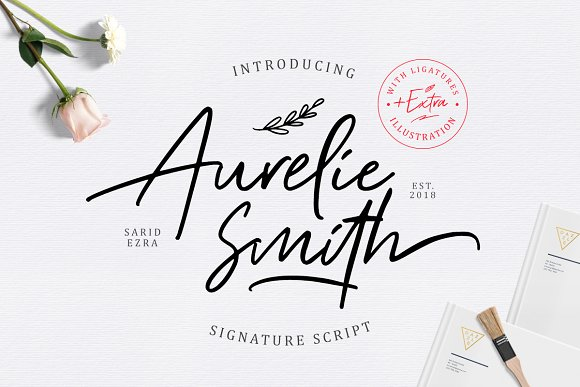 Aurelie Smith Signature