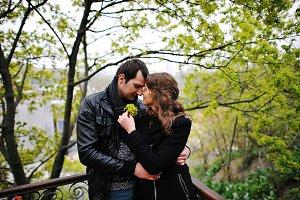 Amazing couple in love
