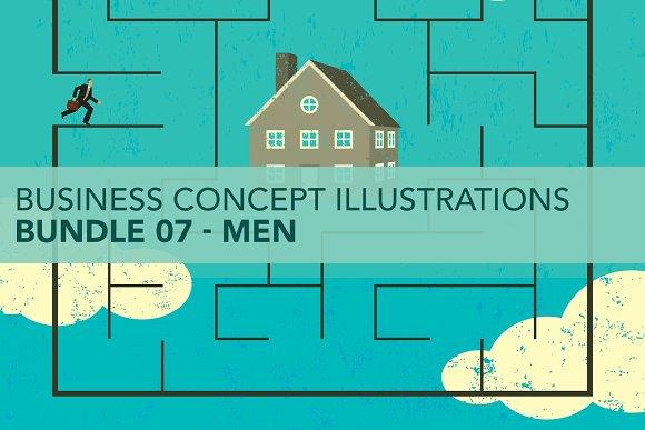 Business Concepts Bundle 07 Men