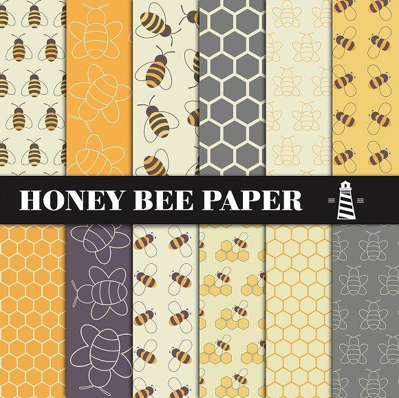 Honey Bee Patterns