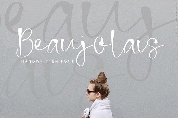 Beaujolais Handwritten Font