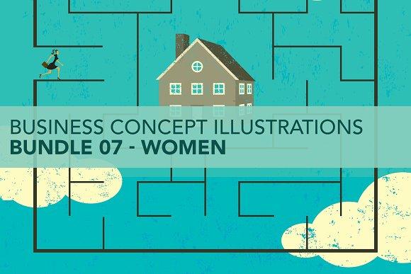 Business Concepts Bundle 07 Women