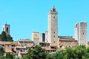 San Gimignano medieval village Italy