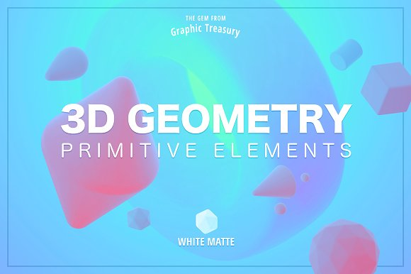 3D Geometry Primitive Elements