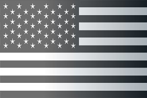 American flag faded 2 png vector