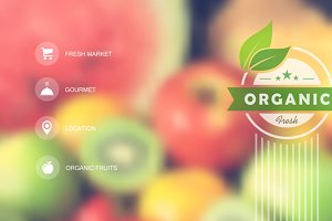 Organic food web interface
