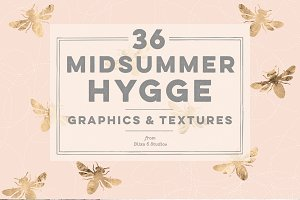 36 Midsummer Hygge Graphics