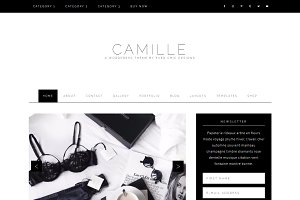 Camille - Feminine WordPress Theme