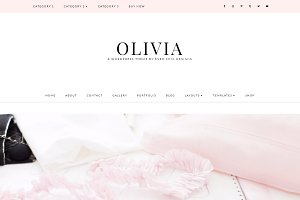 Olivia - Feminine WordPress Theme