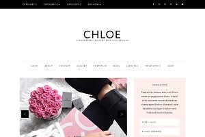 Chloe - Feminine WordPress Theme